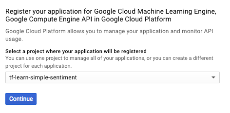 Just another Tensorflow beginner guide (Part4 - Google Cloud ML +